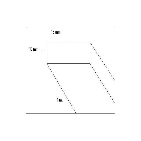 LISTON BALSA (10 x 15 x 1.000 mm)