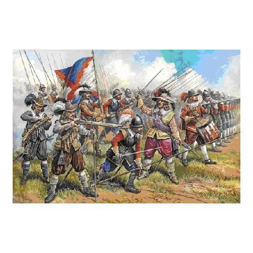 MOSQUETEROS Y PIQUEROS AUSTRIACOS (Siglo XVII) ESCALA 1/72 - ZVEZDA 8061