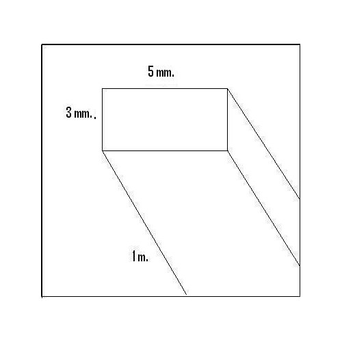 LISTON BALSA (3 x 5 x 1.000 mm)