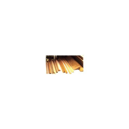 BORDE ATAQUE BALSA (10 x 12 x 1.000 mm) RANURADO