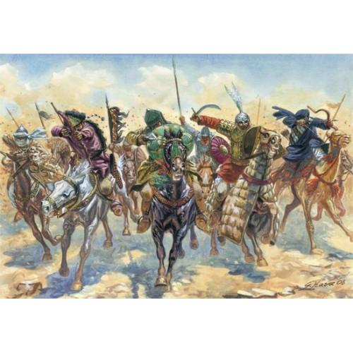 GUERREROS ARABES (17 Figuras) -1/72- Italeri 6126