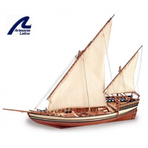 DHOW ARABE  SULTAN   (L: 470 mm / Al: 420 mm / A: 120 mm)
