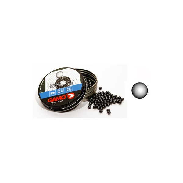 BALINES ROUND 4,5 mm (250 unidades) -