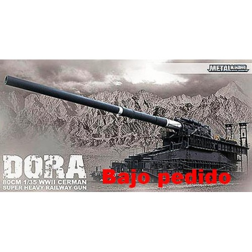 "CAÑON SOBRE RAIL ""DORA"" 1/35"