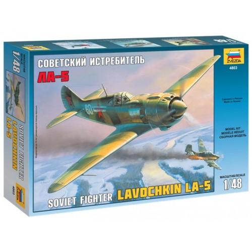 LAVOCHKIN LA-5 -Escala 1/48- Zvevda 4803