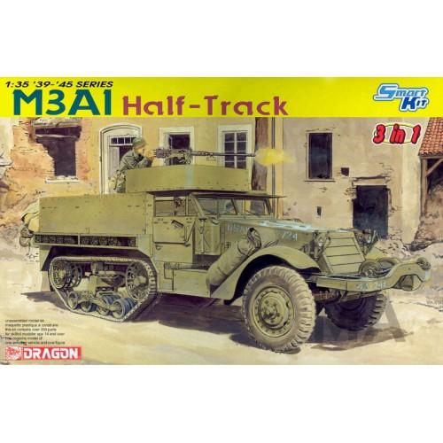TRANSPORTE DE TROPAS M-3 A1 HALF TRACK -Escala 1/35- Dragon 6332