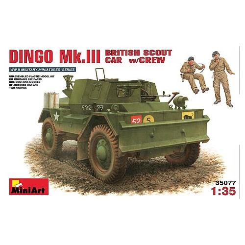 COCHE EXPLORACION DINGO MK-III Y TRIPULACION