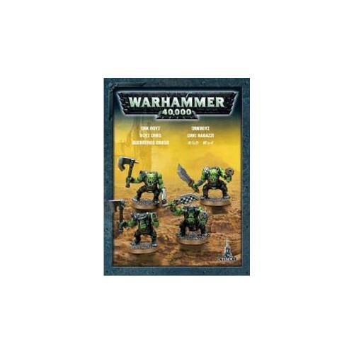 SPACE ORKS ETB X 4 - GAMES WORKSHOP 35-27