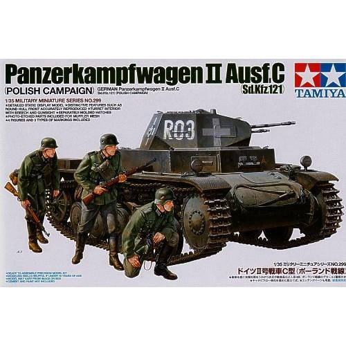CARRO DE COMBATE Sd.Kfz. 121 PANZER II C -Escala 1/35- Tamiya 35299