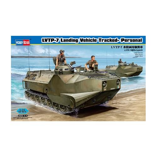 VEHICULO TRANSPORTE DE TROPAS ANFIBIO LVTP-7 -Escala 1/35- Hobby Boss 82409