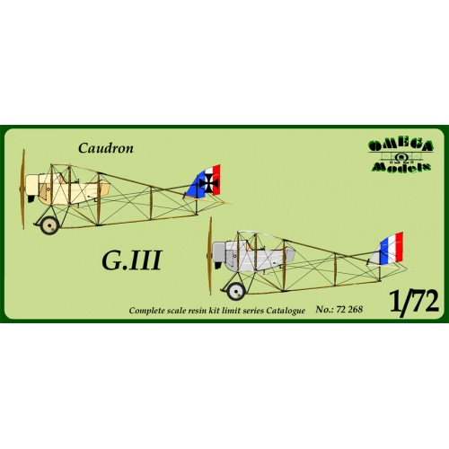 CAUDRON G.III (Resina)