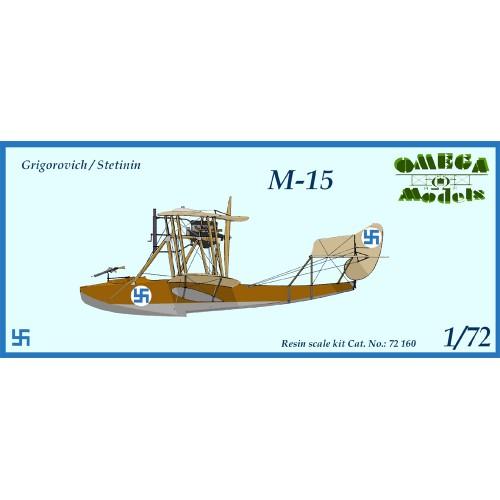 GRIGOROVICH/STETININ M-15 (Resina)