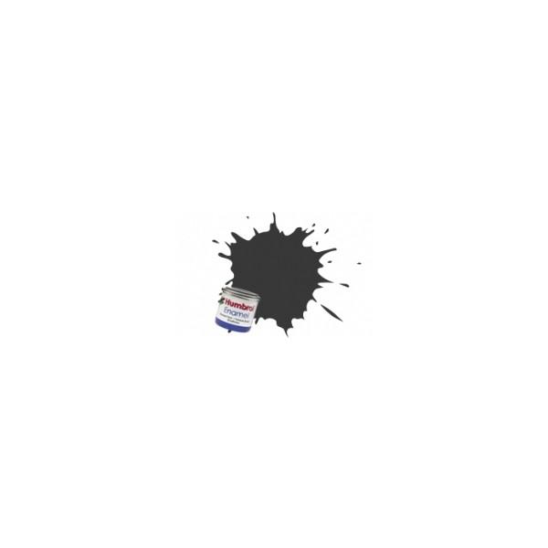 PINTURA ESMALTE NEGRO MATE (14 ml) - Humbrol 33 / AA0360