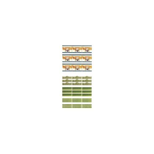 TIRAS CENEFAS BALDOSAS (100 x 280 mm)
