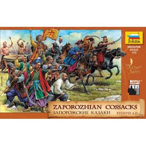 COSACOS ZAPOROZHIAN (S. XVI - XVIII) -Escala 1/72- Zvezda 8064