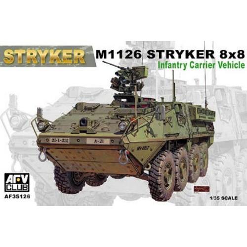 TRANSPORTE TROPAS M-1126 STRYKER -Escala 1/35- AFV Club AF35126