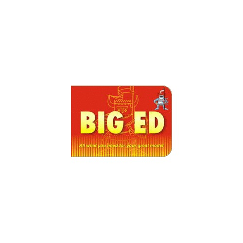 BIG ED FOTOGRABADOS CORREAJES 2ºG.M.1/48 EDUBIG4866