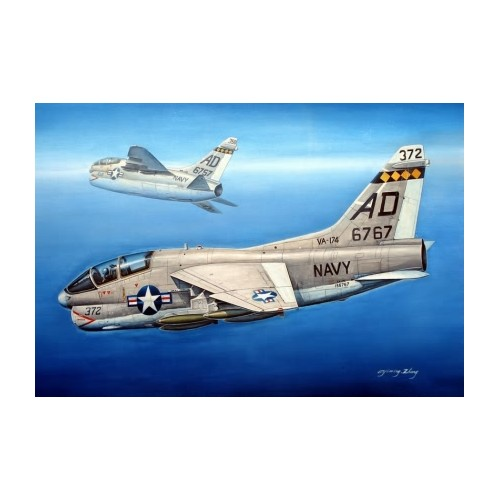 VOUGHT TA-7 C CORSAIR II escala 1/72 hobbyboss 87209