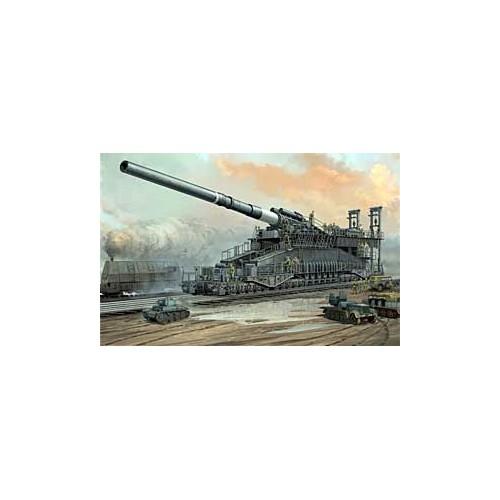 CAÑON SOBRE RAIL DORA 800mm 1/72 - Hobby Boss 82911