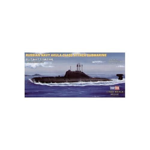 SUBMARINO CLASE AKULA -Escala 1/700- Hobby Boss 87005