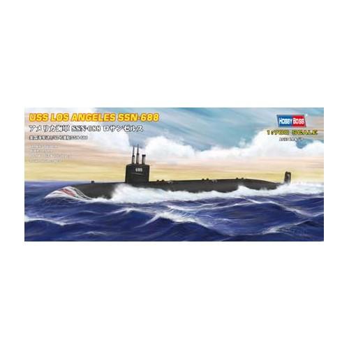 SUBMARINO U.S.S. LOS ANGELES SSN-688 1/700