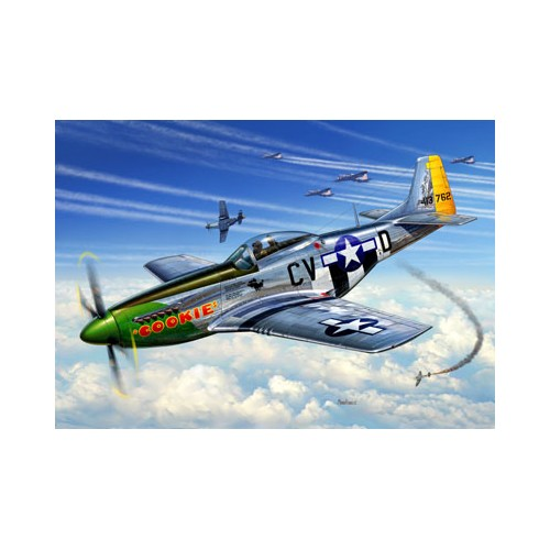 NORTH AMERICAN P-51 D MUSTANG -Escala 1/72- Revell 04148