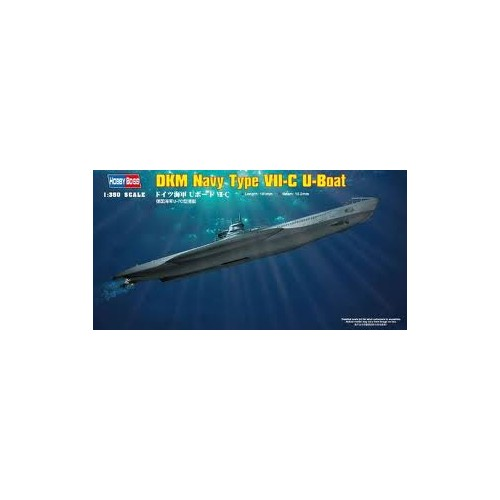 SUBMARINO TIPO VII-C -Escala 1/350- Hobby Boss 83505