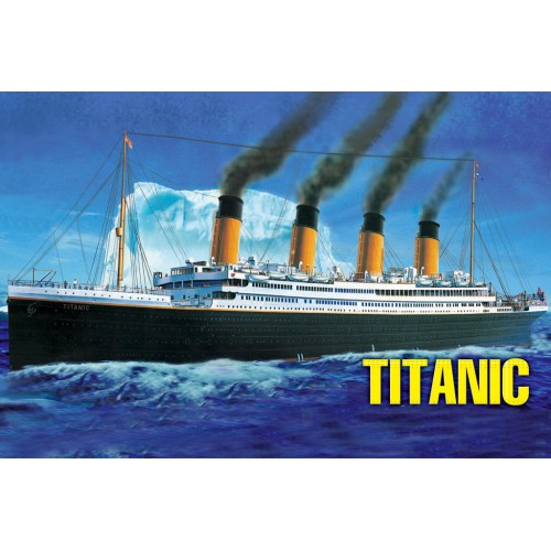 TRANSATLANTICO R.M.S. TITANIC -Escala 1/550- Hobby Boss 81305