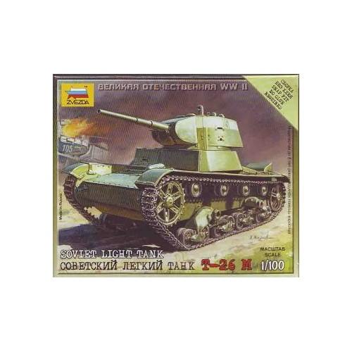 CARRO DE COMBATE T-26 M 1/100