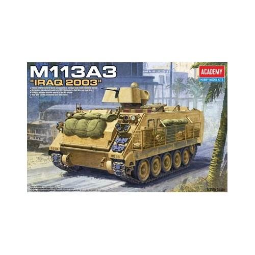 TRANSPORTE DE TROPAS M-113 A2 (IRAK) -Escala 1/35- Academy 13211