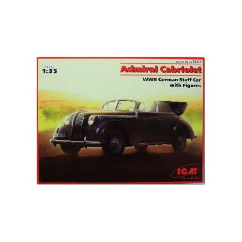 OPEL ADMIRAL CABRIOLET -Escala 1/35- ICM 35471