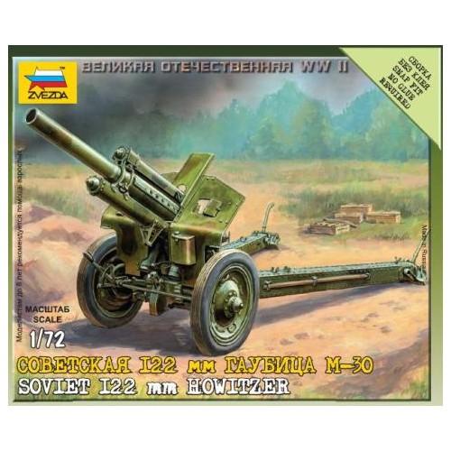OBUS M-30 (122 mm) - ESCALA 1/72- Zvezda 6122