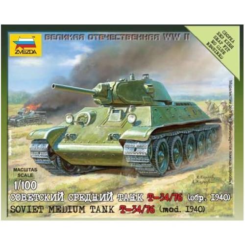 CARRO DE COMBATE T-34 / 76 (Mod. 1.940)