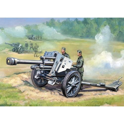 OBUS leFH-18 (105 mm) -ESCALA 1/72- Zvezda 6121