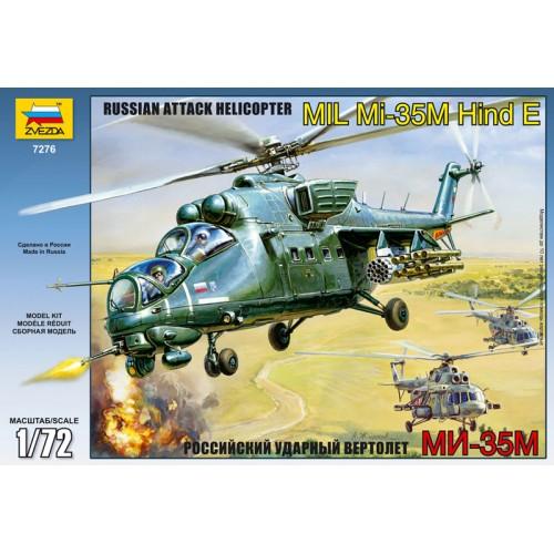 MIL MI-35 M HIND E escala 1/72 ZVEZDA 7276