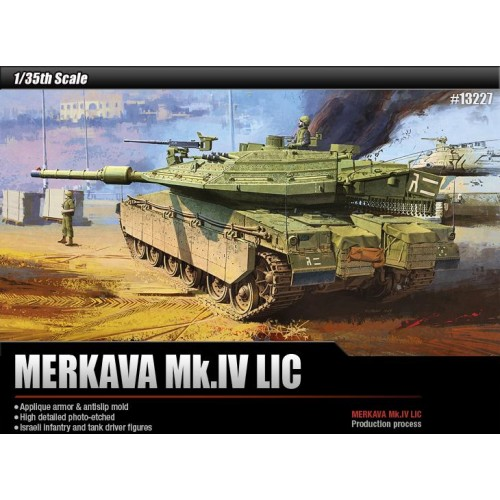 CARRO DE COMBATE MERKAVA MK. IV LIC -Escala 1/35- Academy 13227