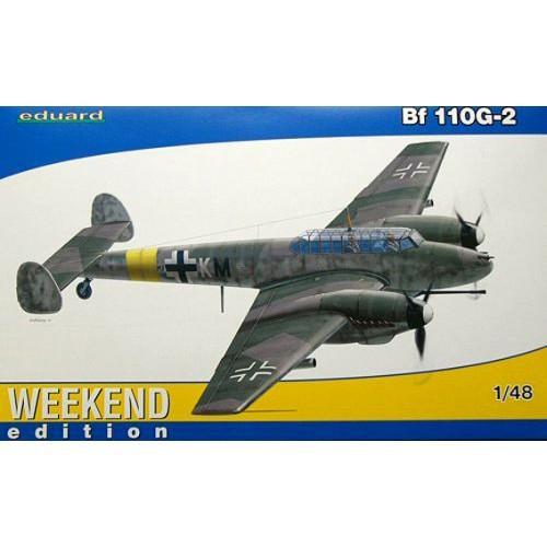 MESSERSCHMITT Bf-110 G-2 - ESCALA 1/48- Eduard 84140