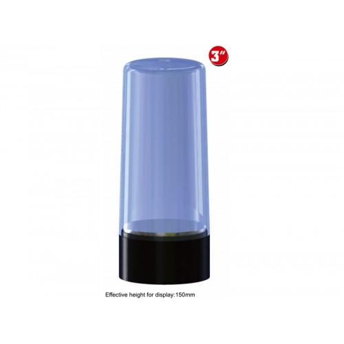 VITRINA CIRCULAR ROTATORIA PLASTICO (84 x 130 mm) - Trumpeter Master Tools 09831