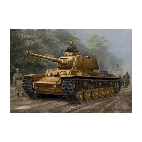 CARRO DE COMBATE KV-1 756 (r) -Escala 1/48- Hobby Boss 84818