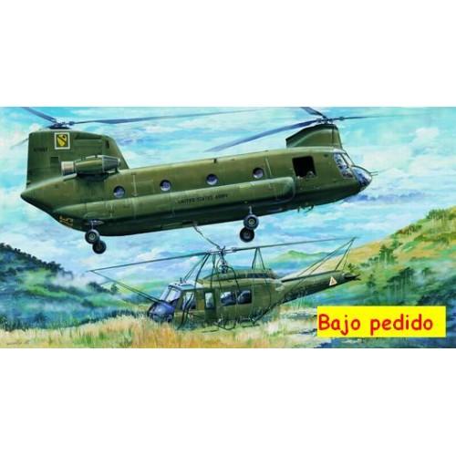 BOEING-VERTOL CH-47 A CHINOOK -Escala 1/35 Trumpeter 05104