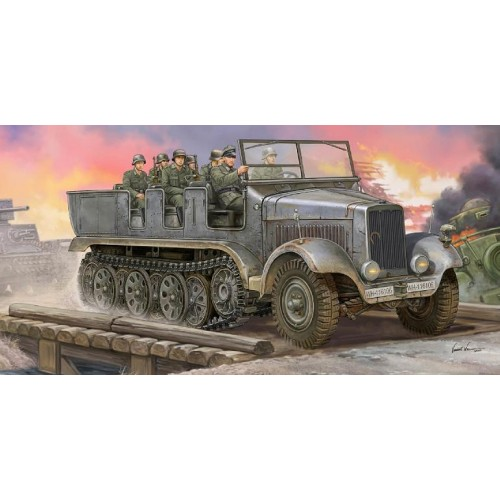 SEMIORUGA SD.KFZ. 6 (Artilleria) -Escala 1/35- Trumpeter 05531