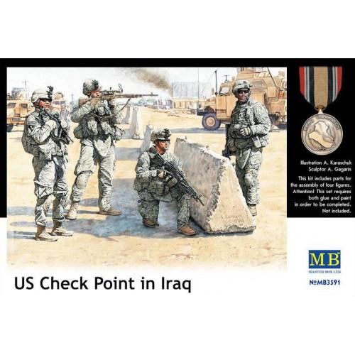 U.S. CHECKPOINT, IRAK