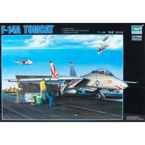GRUMMAN F-14 A TOMCAT -Escala 1/32- Trumpeter 03201