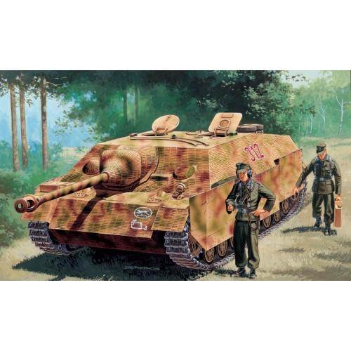 CAZACARROS SD.KFZ. 162 Ausf. F JAGDPANZER IV ESCALA 1/35 - ITALERI 6488