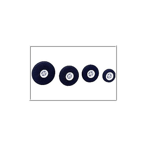 RUEDA ESPUMA (45 mm / 2,1 mm) 2 unidades