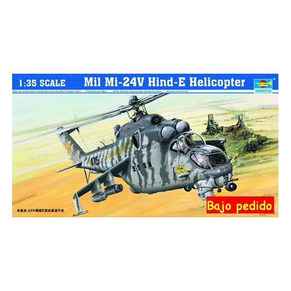 MIL MI-24 V HIND-E -Escala 1/32- Trumpeter 05103