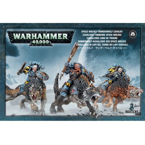 SPACE WOLVES CABALLERIA - GAMES WORKSHOP 53-09