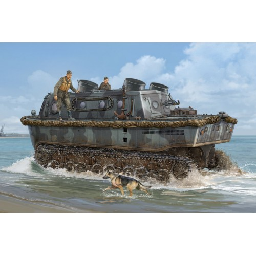 VEHICULO ANFIBIO LAND-WASSER-SCHLEPPER (Early) -Escala 1/35- Hobby Boss 82465