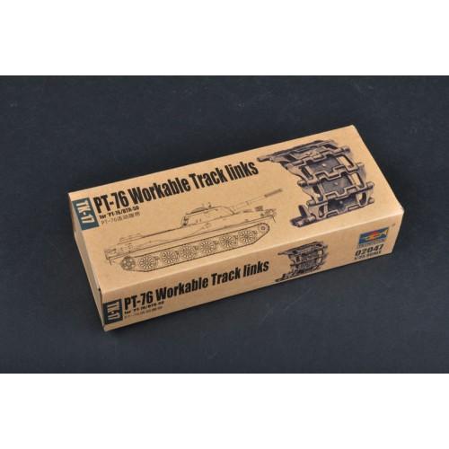 SET ORUGA ARTICULABLE PT-76 - Trumpeter 02047