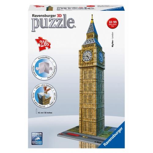 PUZZLE 3D 216 pzas. BIG BEN - RAVENSBURGER 12554
